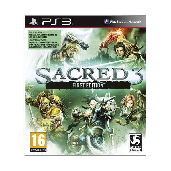 Sacred 3 (First Edition) PS3