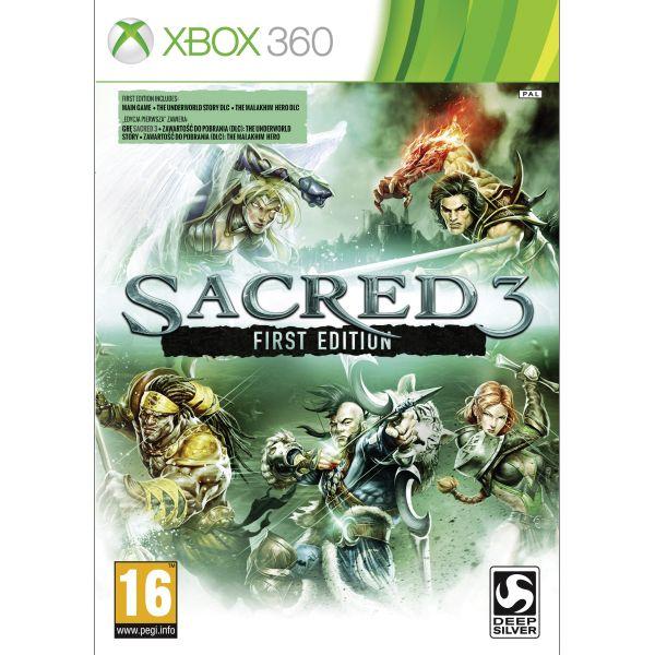 Sacred 3 (First Edition) [XBOX 360] - BAZÁR (použitý tovar)