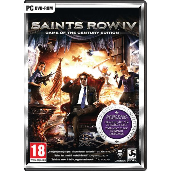 Saints Row 4 (Game of the Century Edition) digital