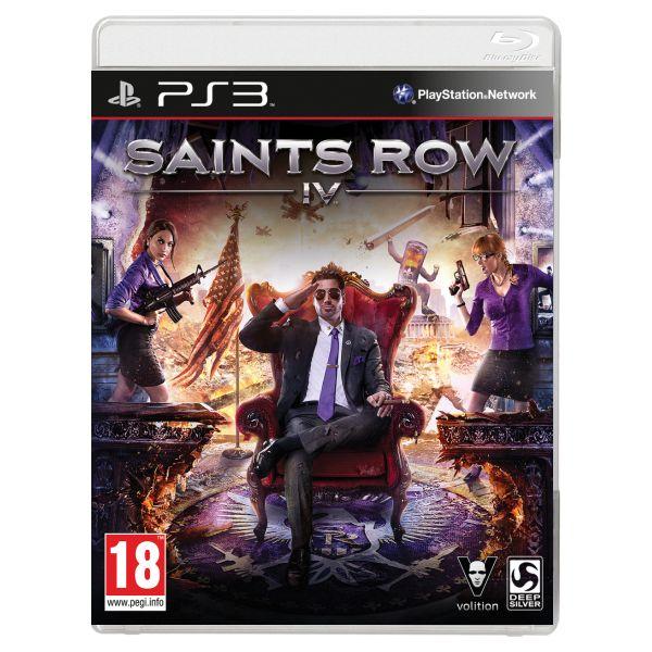 Saints Row 4 [PS3] - BAZÁR (použitý tovar)