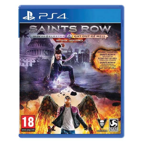 Saints Row 4: Re-Elected + Gat out of Hell (First Edition)