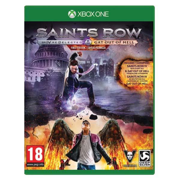 Saints Row 4: Re-Elected  [XBOX ONE] - BAZÁR (použitý tovar)