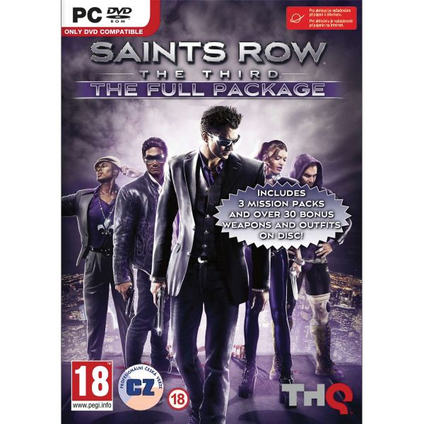 Saints Row: The Third CZ (The Full Package)