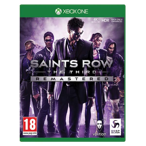 Saints Row: The Third (Remastered) CZ