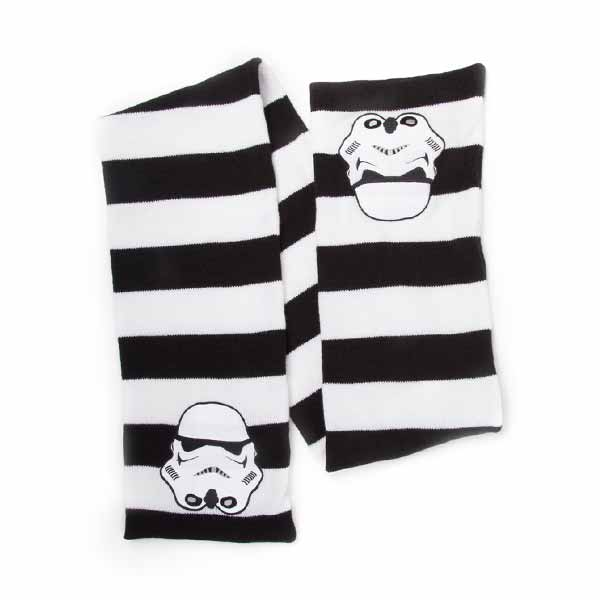 Šál Star Wars - Black and White Striped with Stormtrooper