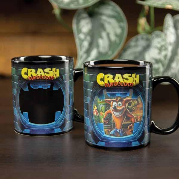 Šálka Crash Bandicoot Heat Change