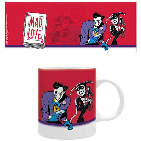 Šálka DC Comics - Harley and Joker, Mad Love