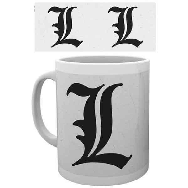 Šálka Death Note - Symbol L