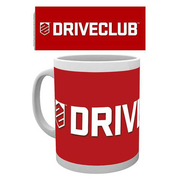 Šálka Drive Club - Logo Red
