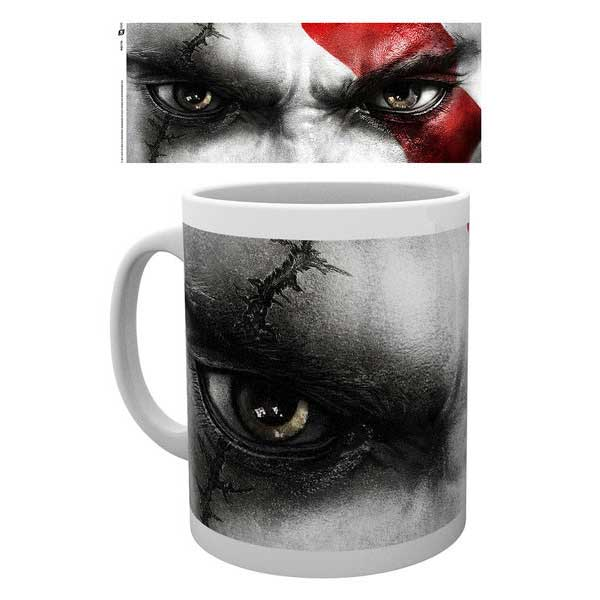 Šálka God of War - Kratos Eyes