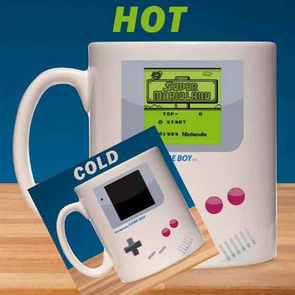 Šálka Nintendo Game Boy Heat Change Super Mario Land