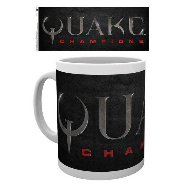 Šálka Quake Champions Logo