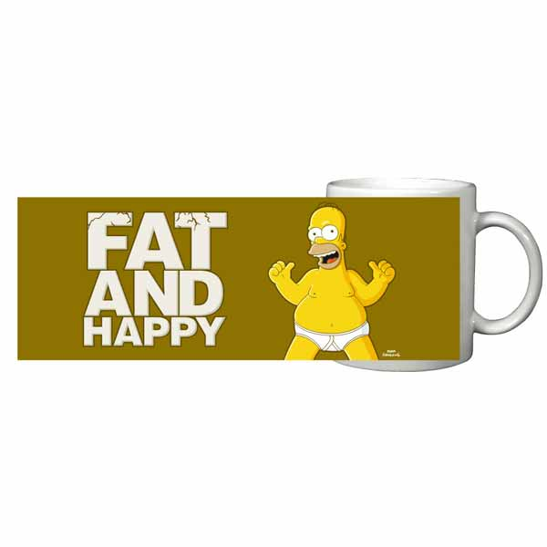Šálka Simpsons- Fat & Happy