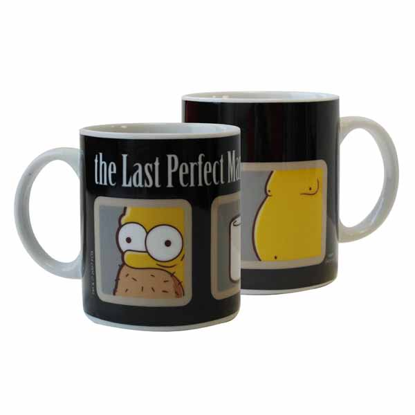 Šálka Simpsons - The Last Perfect Man