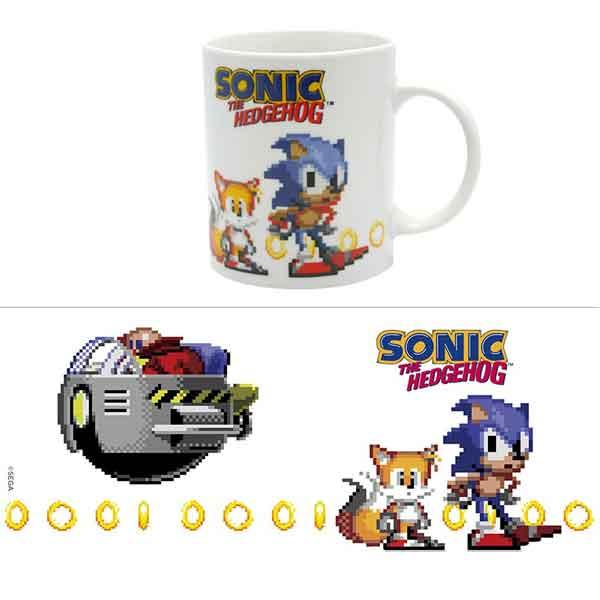 Šálka Sonic Pixels