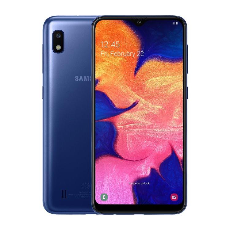 Samsung Galaxy A10 - A105F, Dual SIM, Blue - SK distribúcia