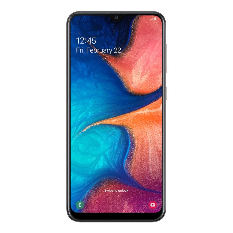 Samsung Galaxy A20e - A202F, Dual SIM | Black, Trieda B - použité, záruka 12 mesiacov