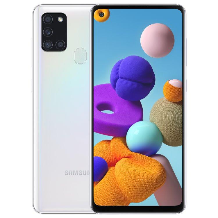 Samsung Galaxy A21s - A217F, Dual SIM, White - SK distribúcia SM-A217FZWNEUE
