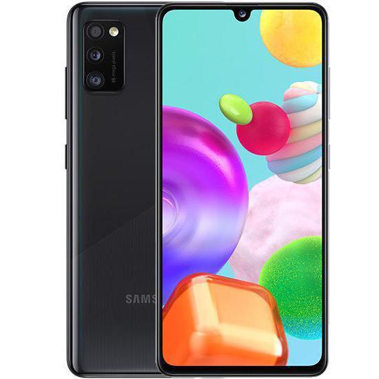 Samsung Galaxy A41 - A415F, 4/64GB, Dual SIM | Black nový tovar, neotvorené balenie