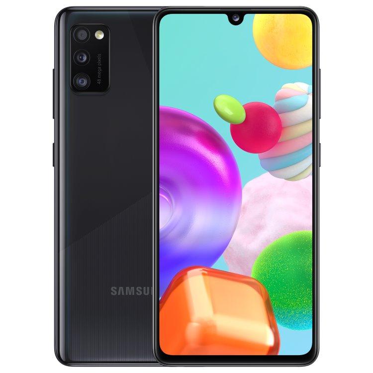 Samsung Galaxy A41 - A415F, 4/64GB, Dual SIM, Black - SK distribúcia