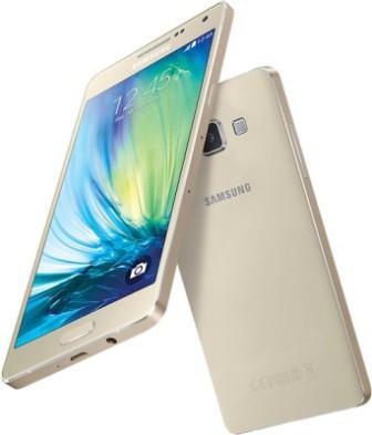 Samsung Galaxy A5 - A500F, 16GB   Champagne Gold, Trieda A - použité, záruka 12 mesiacov