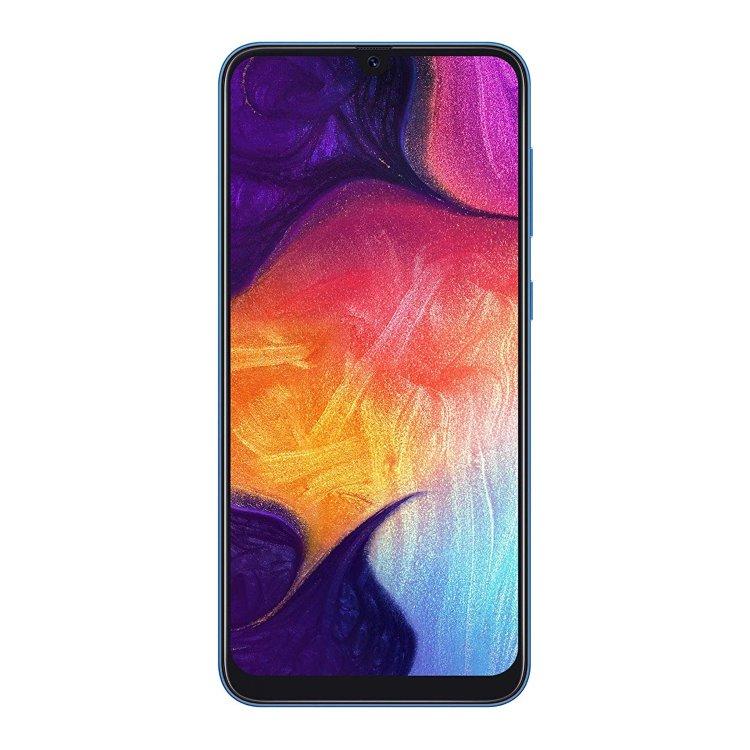 Samsung Galaxy A50 - A505F, 4/128GB, Dual SIM | Blue, Trieda C - použité, záruka 12 mesiacov