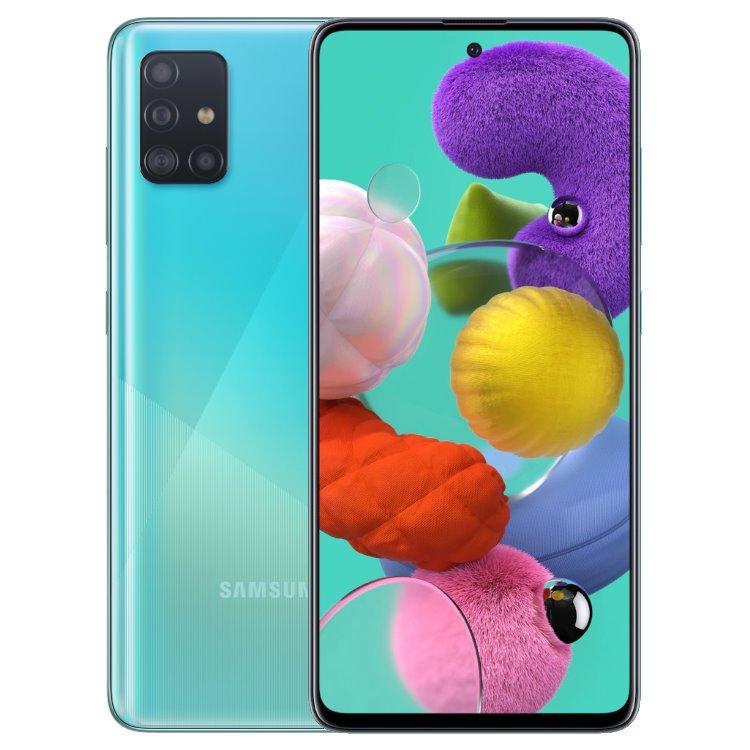 Samsung Galaxy A51 - A515F, 4/128GB, Dual SIM, Blue - SK distribúcia