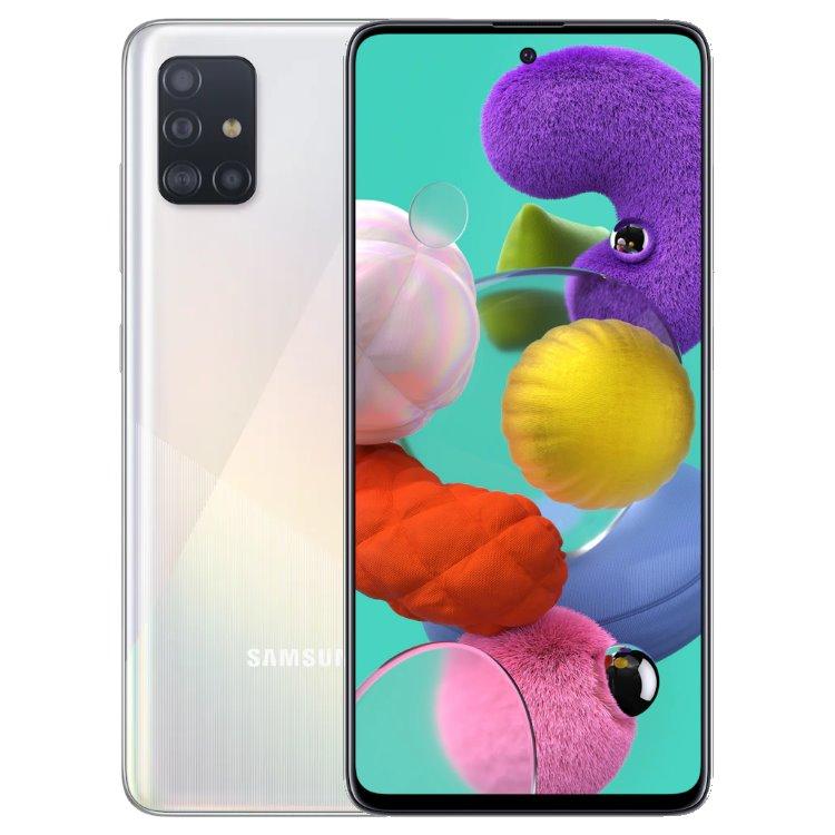 Samsung Galaxy A51 - A515F, 4/128GB, Dual SIM, White - SK distribúcia