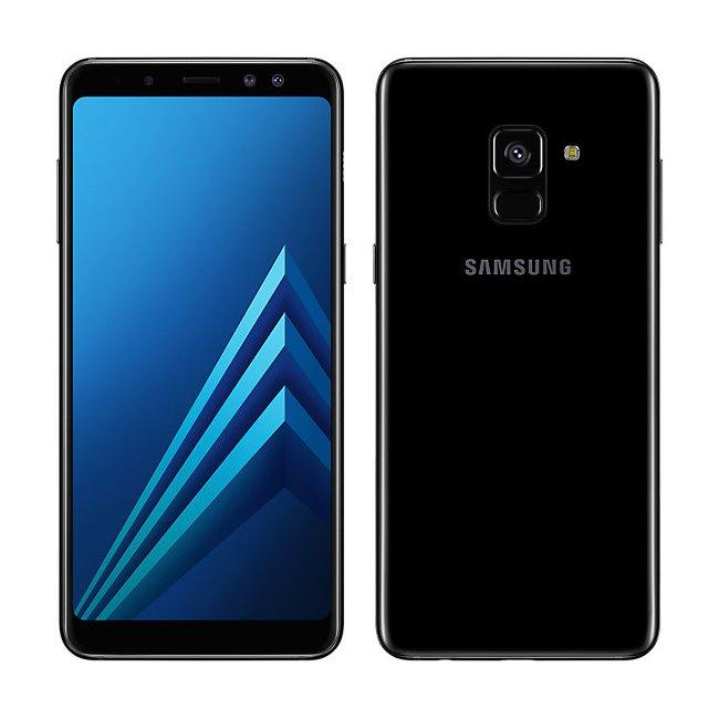 Samsung Galaxy A8 2018 - A530F, Single SIM, 32GB | Black, Trieda C - použité, záruka 12 mesiacov