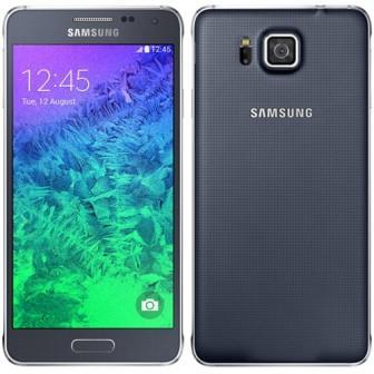 Samsung Galaxy Alpha - G850, 32GB, Anglický jazyk | NEFUNGUJE TOUCH ID | Black, Trieda B - použité, záruka 12 mesiacov
