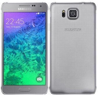 Samsung Galaxy Alpha - G850, 32GB | Silver, Trieda C - použité, záruka 12 mesiacov