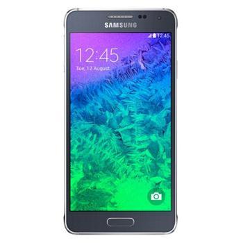 Samsung Galaxy Alpha - G850, EN jazyk | Black, Trieda C - použité, záruka 12 mesiacov
