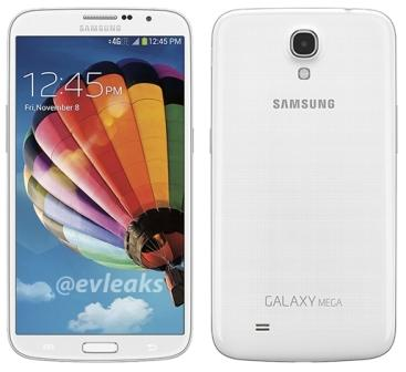 Samsung Galaxy Mega 6.3 - i9205, 8GB | White, Trieda B - použité, záruka 12 mesiacov