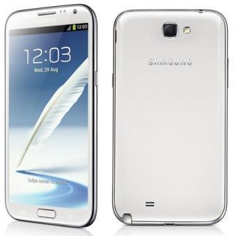 Samsung Galaxy Note 2 - N7100 | NESVIETI TLAČIDLO | Marble White, Trieda C - použité, záruka 12 mesiacov