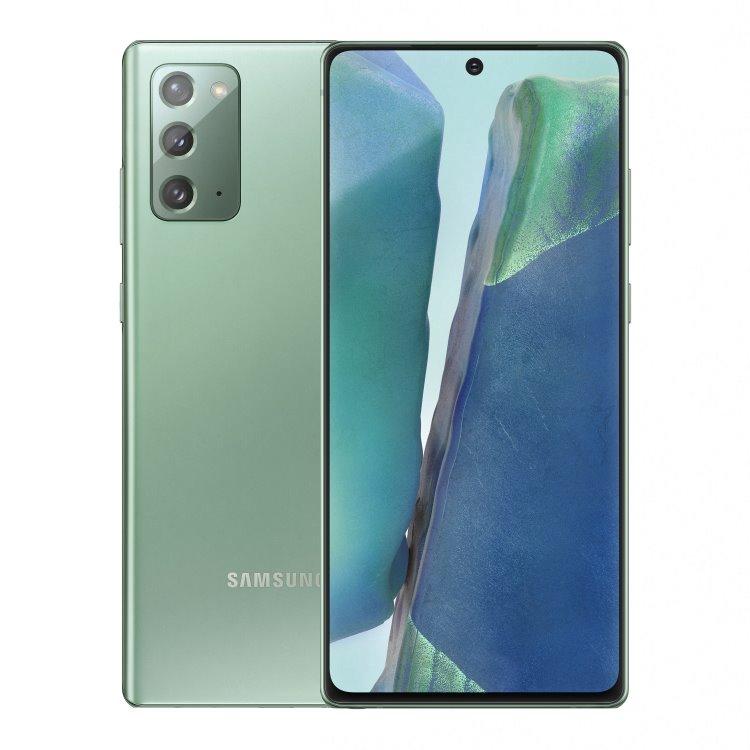 Samsung Galaxy Note 20 - N980F, Dual SIM, 8/256GB, Mystic Green - SK distribúcia SM-N980FZGGEUE