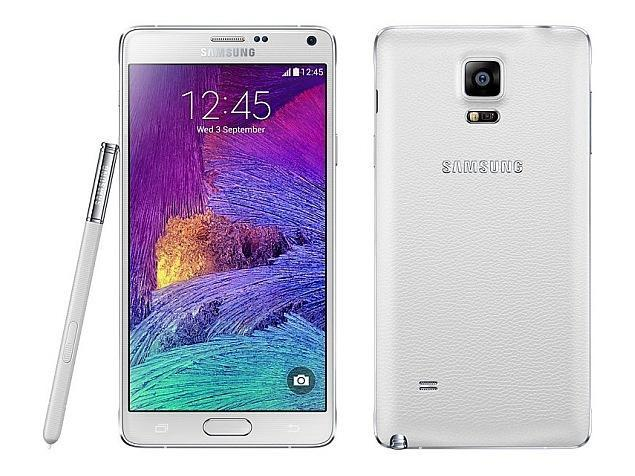 Samsung Galaxy Note 4 - N910F, 32GB   White, Trieda B - použité, záruka 12 mesiacov