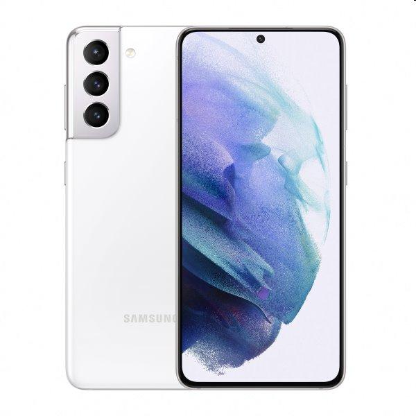 Samsung Galaxy S21 5G - G991B, Dual SIM, 8/128GB, Phantom White - SK distribúcia SM-G991BZWDEUE