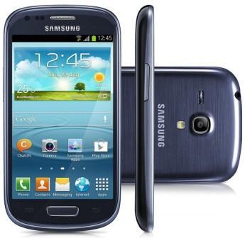 Samsung Galaxy S3 Mini - i8190, 8GB | Pebble Blue, Trieda B - použité, záruka 12 mesiacov