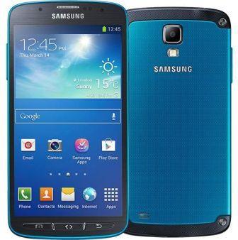 Samsung Galaxy S4 Active - i9295, 16GB | Blue, Trieda C - použité, záruka 12 mesiacov