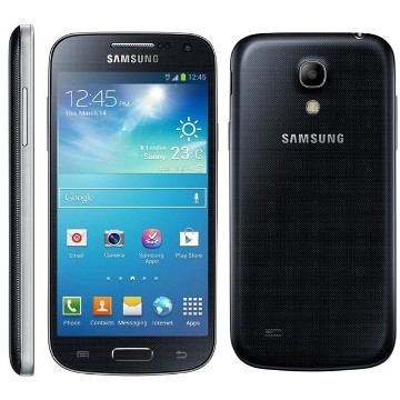Samsung Galaxy S4 mini - i9195, 8GB | Black Mist, Trieda A - použité, záruka 12 mesiacov