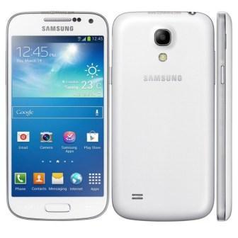 Samsung Galaxy S4 mini - i9195, 8GB   White Frost, Trieda A - použité, záruka 12 mesiacov