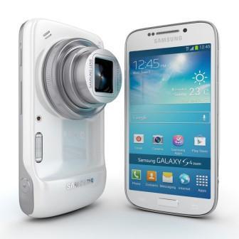 Samsung Galaxy S4 Zoom - SM-C101, 8GB | White, Trieda C - použité, záruka 12 mesiacov