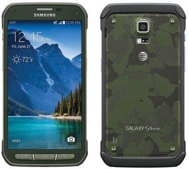 Samsung Galaxy S5 Active - G870A, 16GB | Camo Green, Trieda A - použité, záruka 12 mesiacov