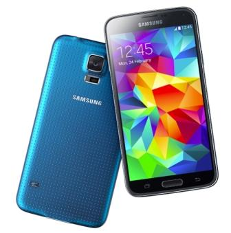Samsung Galaxy S5 - G900, 16GB   Blue, Trieda A - použité, záruka 12 mesiacov