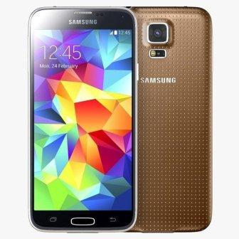 Samsung Galaxy S5 mini - G800, 16GB   Gold, Trieda B - použité, záruka 12 mesiacov
