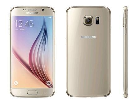 Samsung Galaxy S6 - G920F, 32GB   Gold, Trieda D - použité, záruka 12 mesiacov