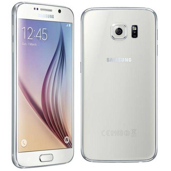 Samsung Galaxy S6 - G920F, 32GB | White, Trieda C - použité, záruka 12 mesiacov