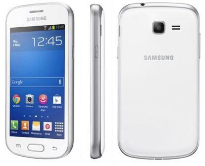 Samsung Galaxy Trend Lite - S7390, 4GB   White, Trieda A - použité, záruka 12 mesiacov