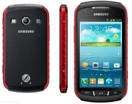 Samsung Galaxy Xcover 2 - S7710, 4GB   Black/Red, Trieda C - použité, záruka 12 mesiacov