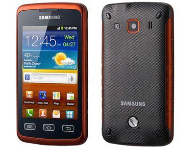 Samsung Galaxy Xcover - S5690 | Black Orange, Trieda C - použité, záruka 12 mesiacov